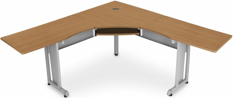 Discount Corner Desks - OFM Rize L-Shapeed Corner Desk [55177]