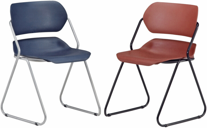 ofm stackable plastic office chair 202