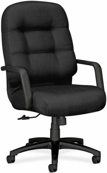 hon chairs pillow soft 2090 executive high back chair 2091. Black Bedroom Furniture Sets. Home Design Ideas